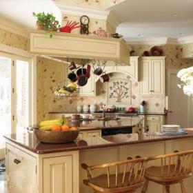 自然厨房餐桌设计案例