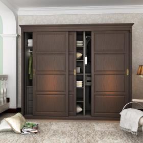 创意衣柜整体衣柜移门整体家具图片