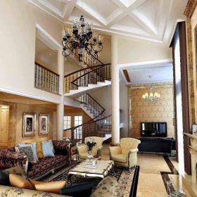 欧式客厅别墅设计方案