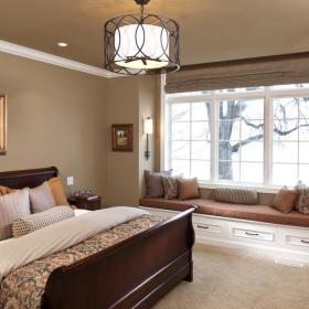 卧室飘窗&落地窗图片