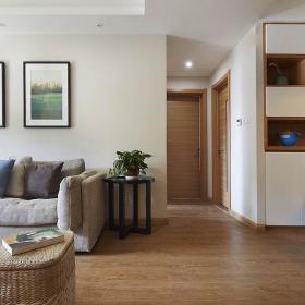 现代简约客厅收纳装修案例