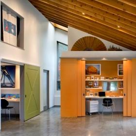 书房隐形门设计案例