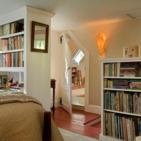 书房隐形门效果图
