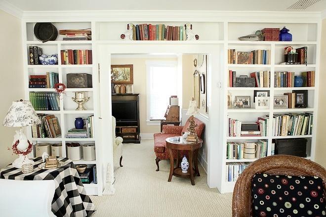 65款家庭图书馆设计,将墙面空间利用到极致