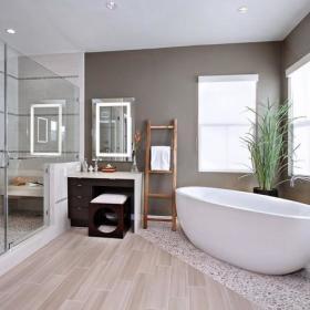 卫生间淋浴房设计案例展示