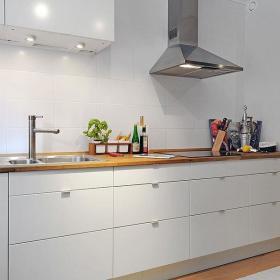 北欧厨房收纳装修效果展示