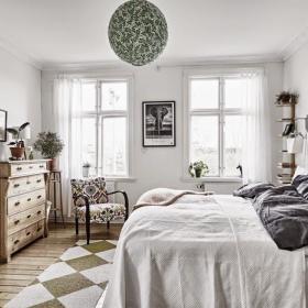 北欧卧室背景墙设计案例展示