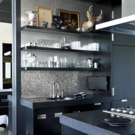 现代简约厨房收纳案例展示