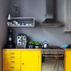 北欧厨房收纳设计方案