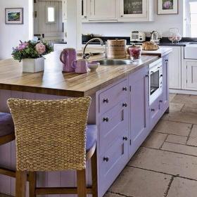 美式乡村厨房收纳设计案例