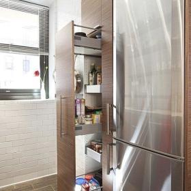 现代简约厨房收纳设计案例