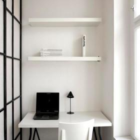 现代简约书房收纳设计方案