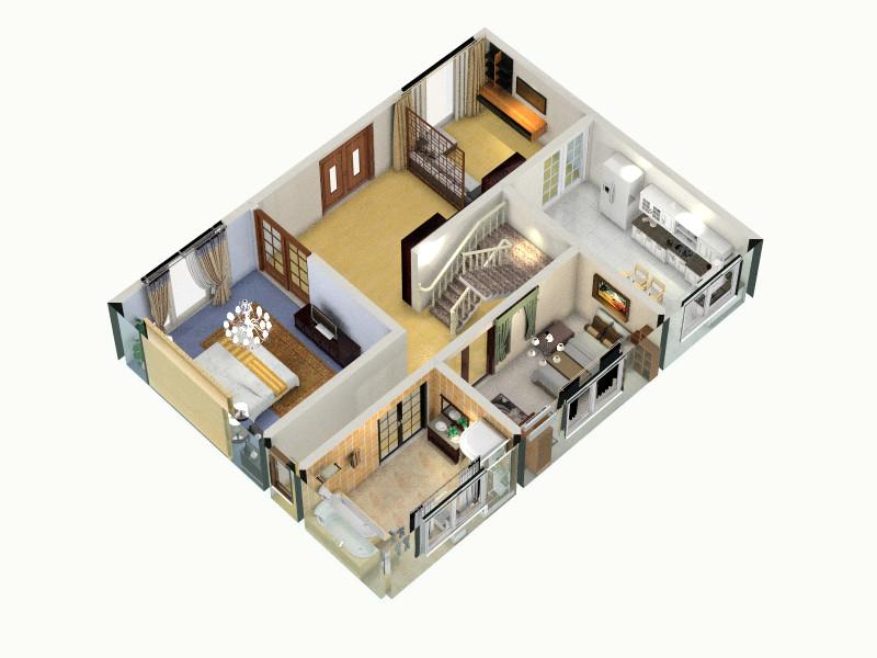 农村自建房设计图客厅 室内 厨房 卫生间等装修效果图大全