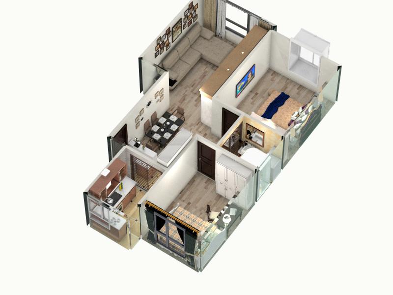 大禹褐石客厅,室内,厨房,卫生间等装修效果图大全