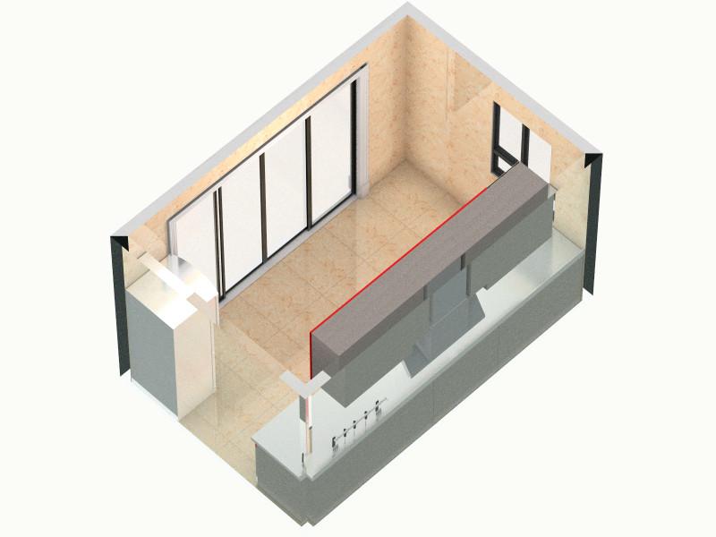 爵士白-厨房客厅,室内,厨房,卫生间等装修效果图大全