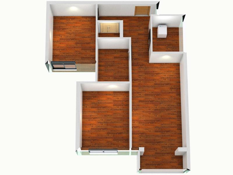 b户型标注图客厅,室内,厨房,卫生间等装修效果图大全