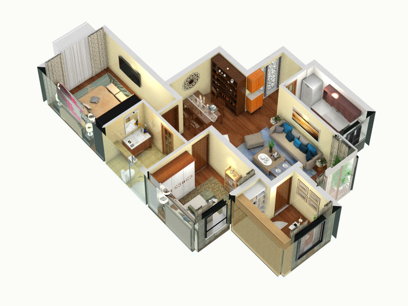 北京市昌平区回龙观镇f05住宅项目装修设计方案