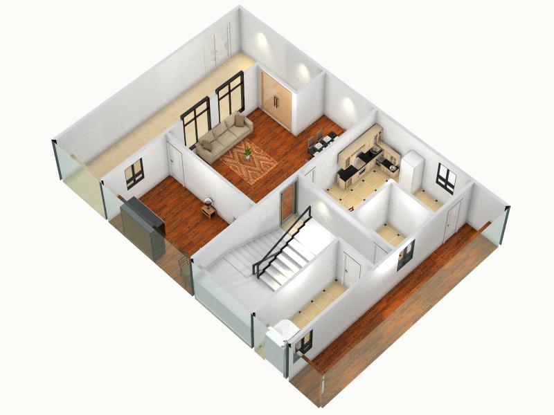 农村自建房客厅,室内,厨房,卫生间等装修效果图大全
