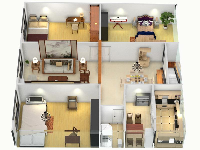 自建房装修设计方案