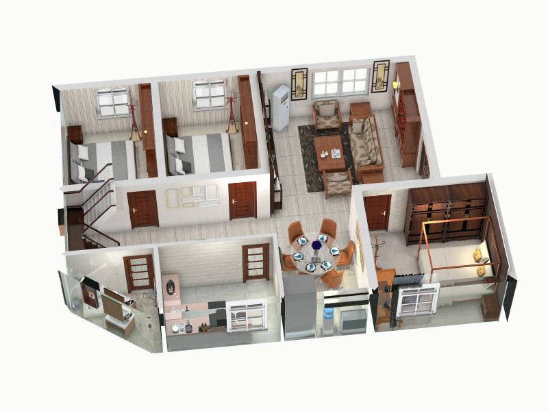 """急求农村二层住宅房屋设计图(CAD格式)——你好,""""房屋设计图."""