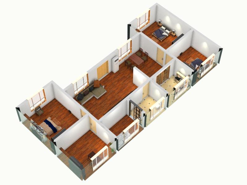 铺面住房设计图展示图片