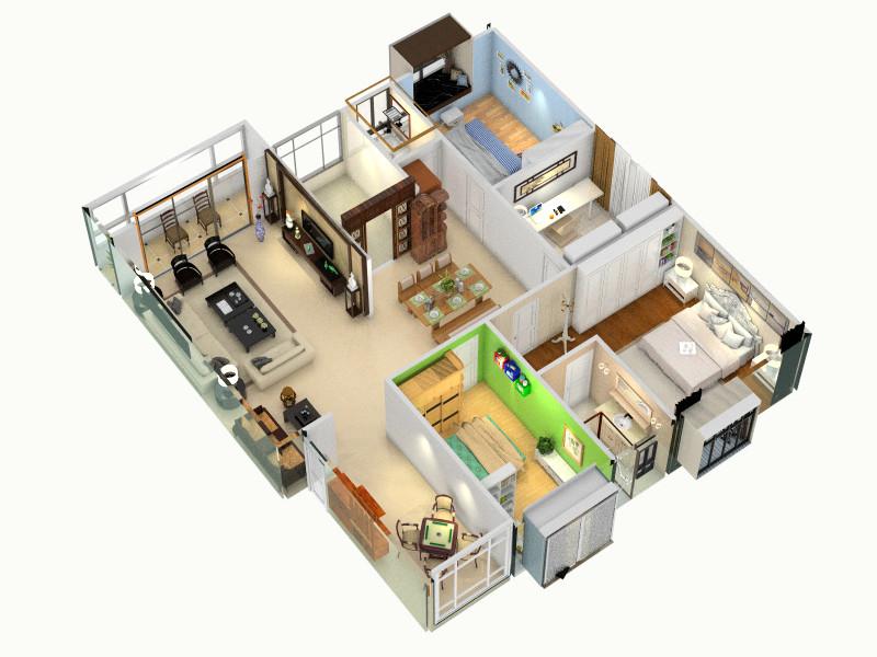 ff-副本-副本客厅,室内,厨房,卫生间等装修效果图大全