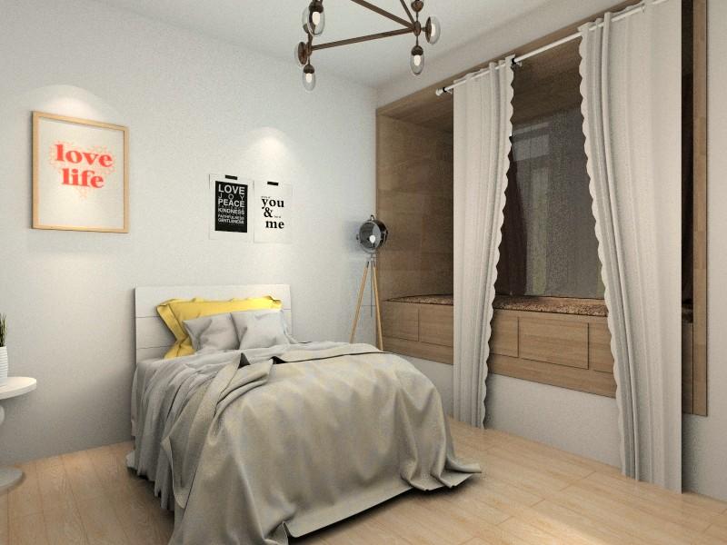 两室一厅,次卧