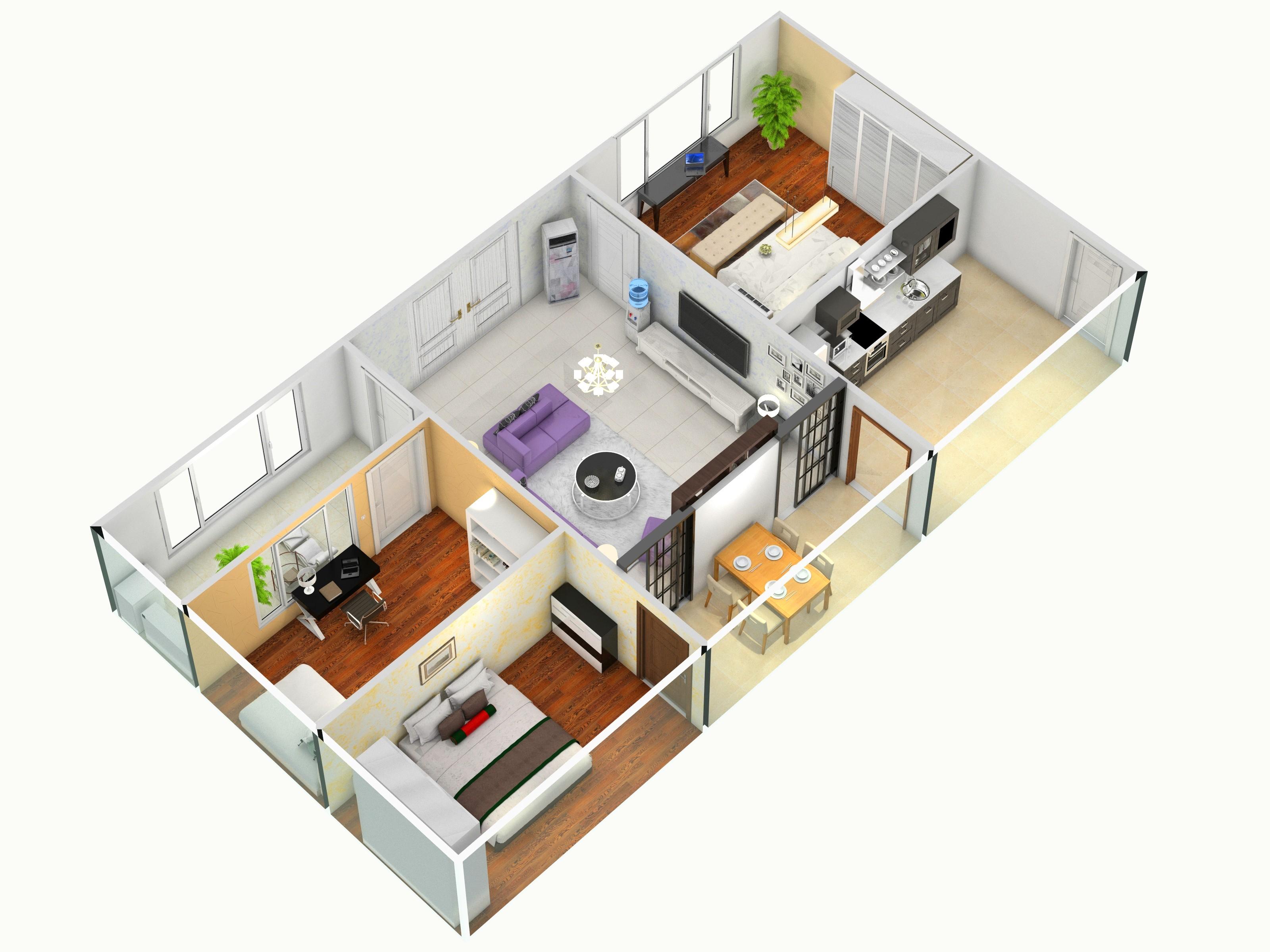 平房客厅,室内,厨房,卫生间等装修效果图大全