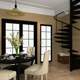 欧式美式楼梯设计案例