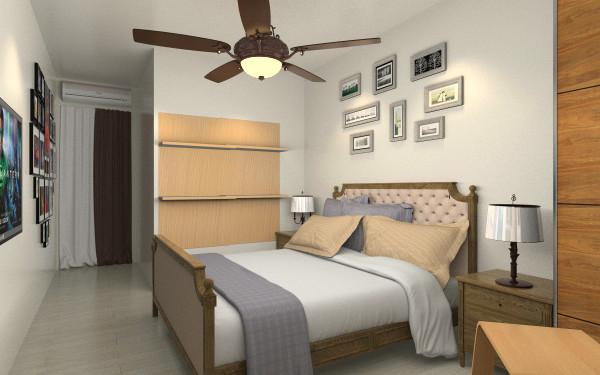 背景墙 房间 家居 设计 卧室 卧室装修 现代 装修 600_375