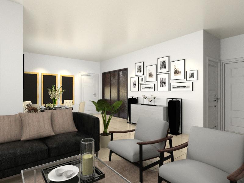 厨房玻璃门为房间厨房,方位旁黑色为储藏室,可设计为隐藏门.模具设计cad练习图片