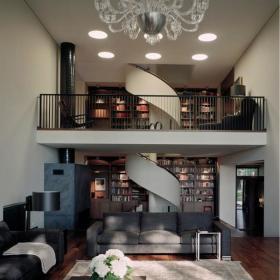 客厅楼梯效果图