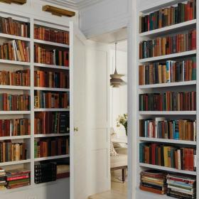 书房书架装修案例