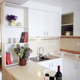 现代简约厨房吧台设计图