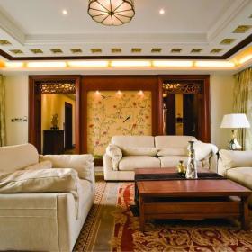 客厅沙发灯具效果图