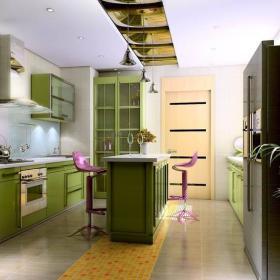 厨房吧台设计方案