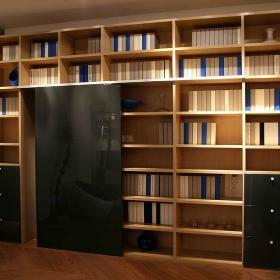 书房书架图片