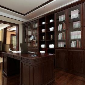 书房书架装修效果展示