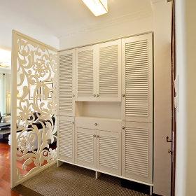 玄关隔断玄关柜装修效果展示