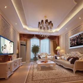 客厅吊顶灯具设计案例