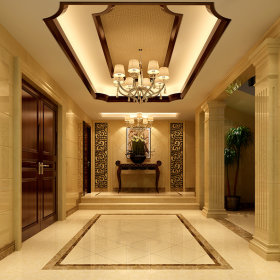 玄关玄关柜设计案例