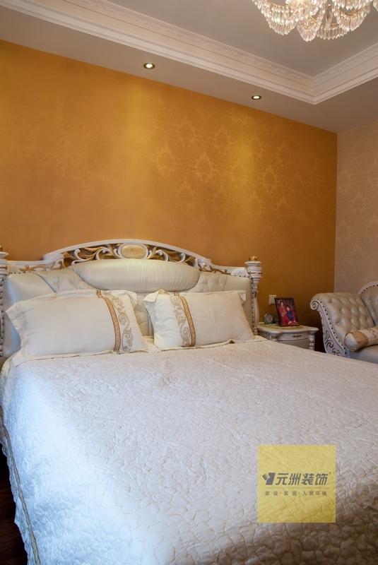 144平 简欧风格 三室两厅两卫装修效果图图片