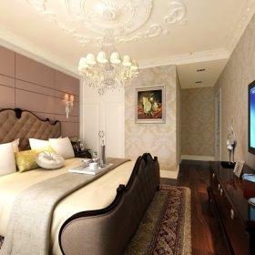 卧室吊顶台灯设计方案