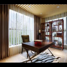 书房窗帘设计案例展示