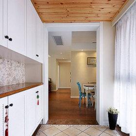 现代简约田园美式玄关玄关柜设计方案