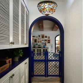 地中海地中海风格玄关玄关柜设计案例