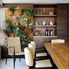 自然背景墙设计案例展示