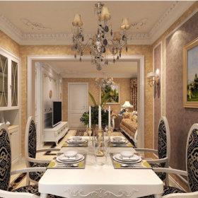 欧式自然餐桌欧式餐桌椅装修案例