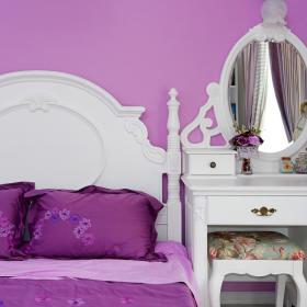 现代简约韩式卧室效果图