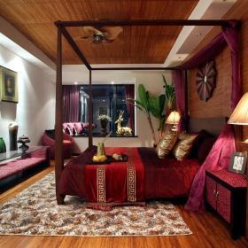 东南亚卧室设计图